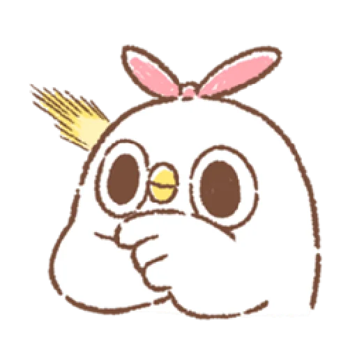 """太可愛了!誰能不""""鳥""""我 (2) - Sticker 10"""
