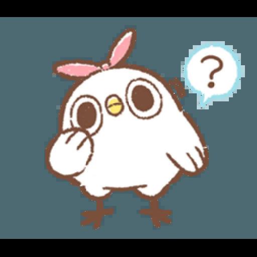 """太可愛了!誰能不""""鳥""""我 (2) - Sticker 12"""