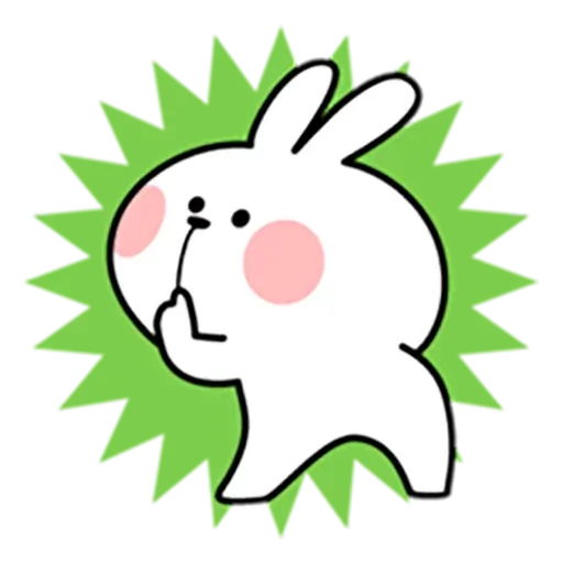 Spoiled rabbit 忙碌碌版 2 - Sticker 15