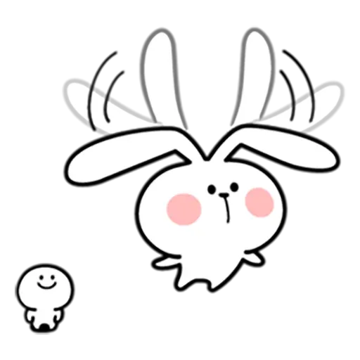 Spoiled rabbit 忙碌碌版 2 - Sticker 12
