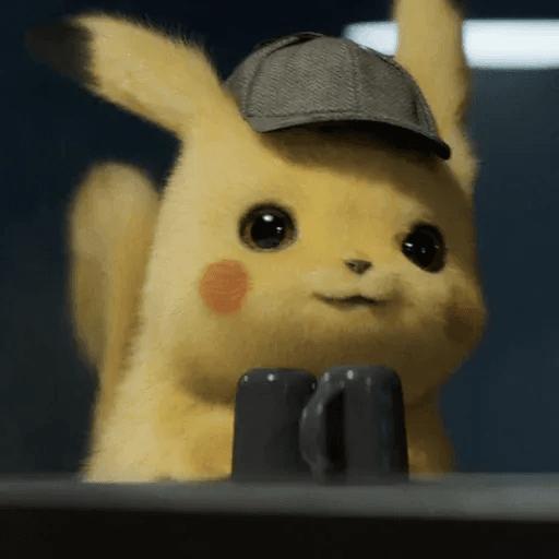 Pikachuwu - Tray Sticker