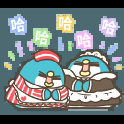 PP mini 小小企鵝 -小老頭 (2) - Sticker 18