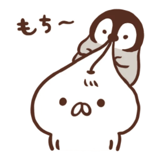Penguin and Cat Days New Year's Gift2 - Sticker 6