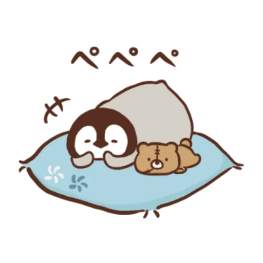 Penguin and Cat Days New Year's Gift2 - Sticker 9