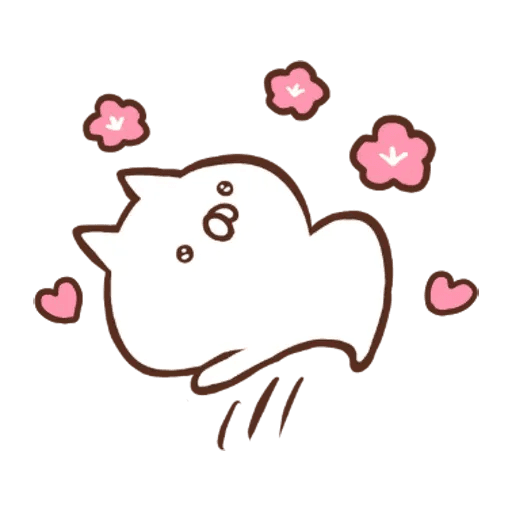 Penguin and Cat Days New Year's Gift2 - Sticker 16