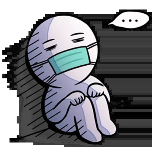 Masks meme - Sticker 12