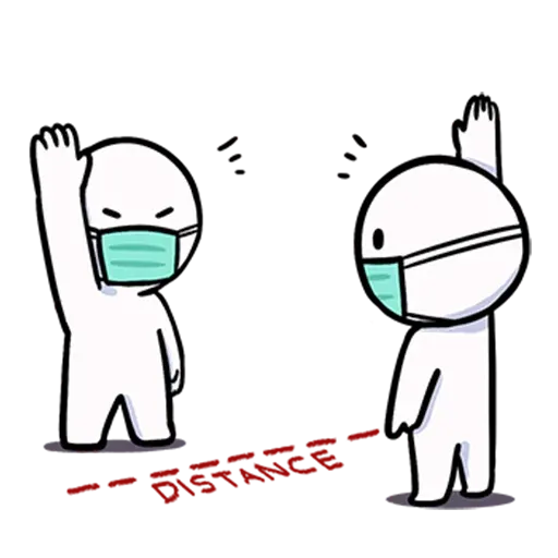 Masks meme - Sticker 20