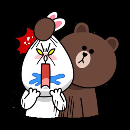 嬲熊大2 - Tray Sticker