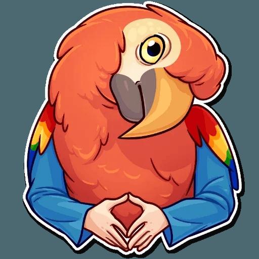 Bird with hands - Sticker 15