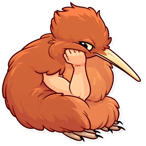 Bird with hands - Sticker 12