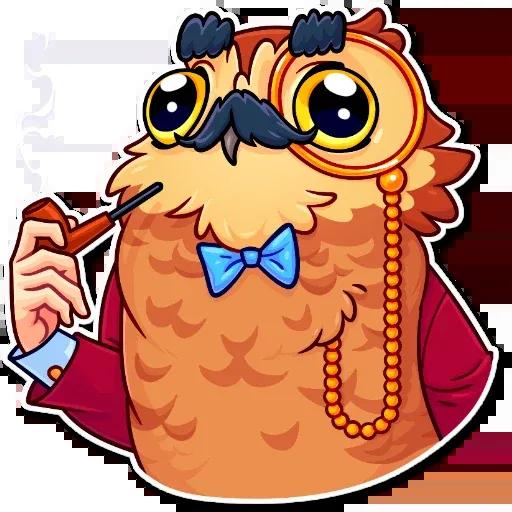 Bird with hands - Sticker 8