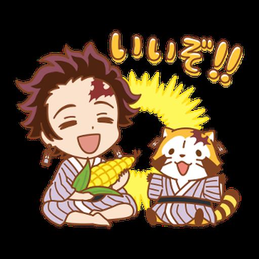 Kimetsu no Yaiba × Rascal #1 - Sticker 6