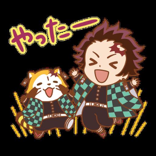 Kimetsu no Yaiba × Rascal #1 - Sticker 16