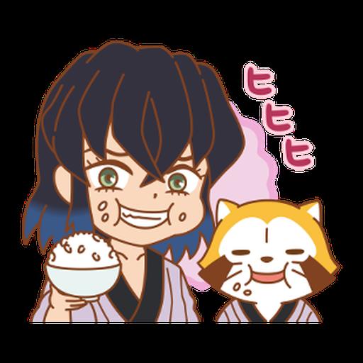 Kimetsu no Yaiba × Rascal #1 - Sticker 15