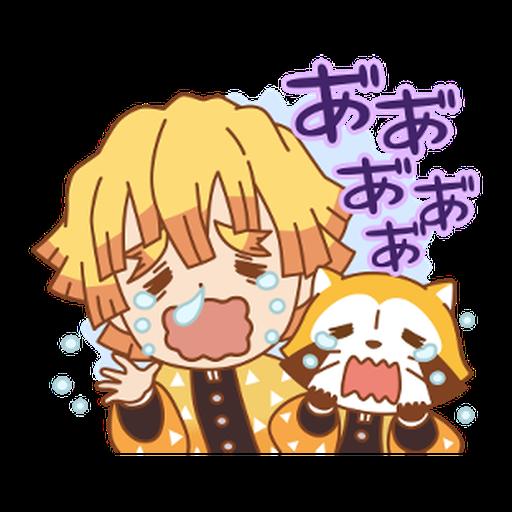 Kimetsu no Yaiba × Rascal #1 - Sticker 5