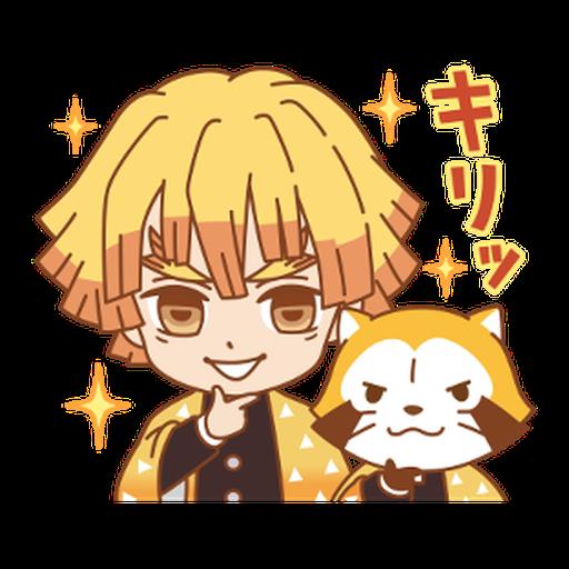 Kimetsu no Yaiba × Rascal #1 - Sticker 2