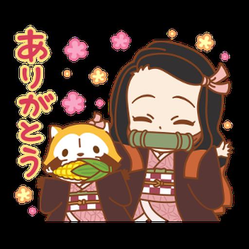 Kimetsu no Yaiba × Rascal #1 - Sticker 4