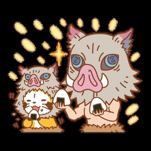 Kimetsu no Yaiba × Rascal #1 - Sticker 18