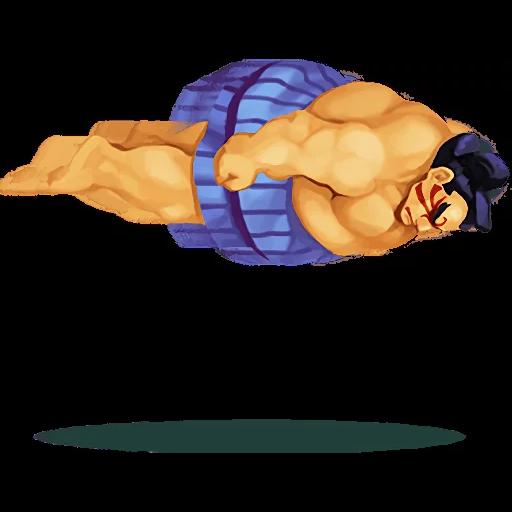Street Fighter II (2) - Sticker 1