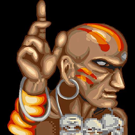 Street Fighter II (2) - Sticker 3