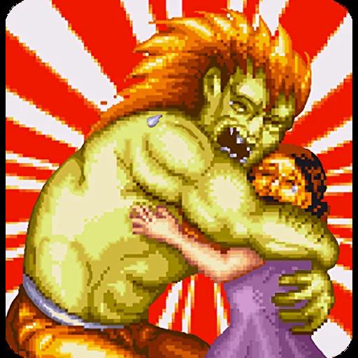 Street Fighter II (2) - Sticker 5