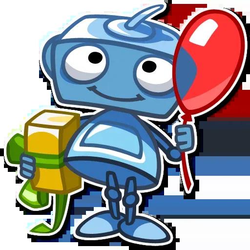 RoboBlues - Sticker 15