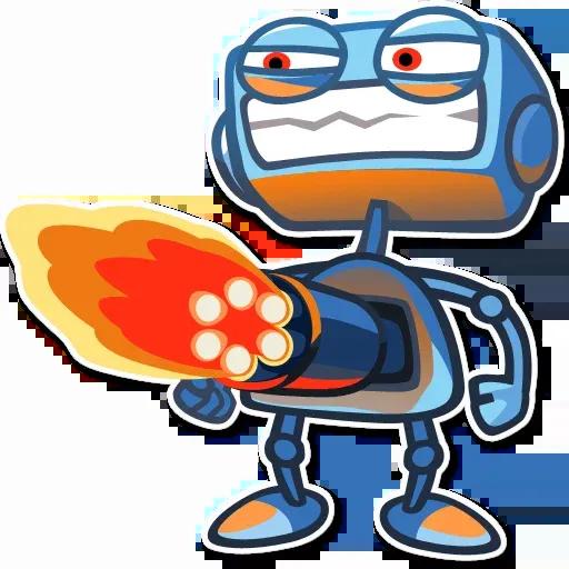 RoboBlues - Sticker 12