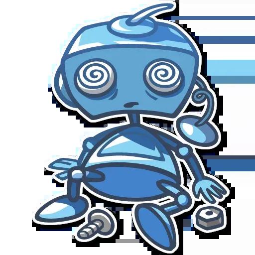 RoboBlues - Sticker 6