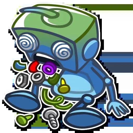 RoboBlues - Sticker 11