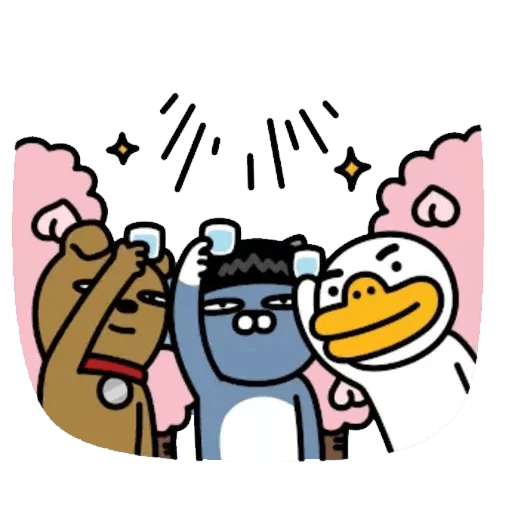 Kakao_friends2 - Sticker 7