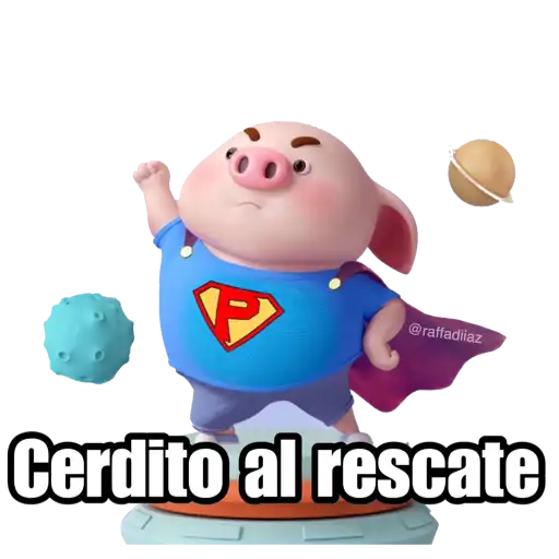 Cerditos 2 - Sticker 6