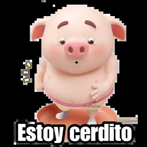 Cerditos 2 - Sticker 11