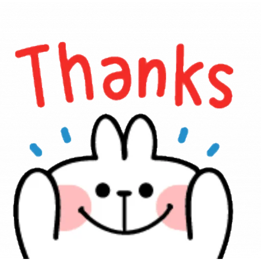 Spoiled rabbit emoji with word - Sticker 11