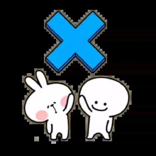 Spoiled rabbit 02 - Sticker 2