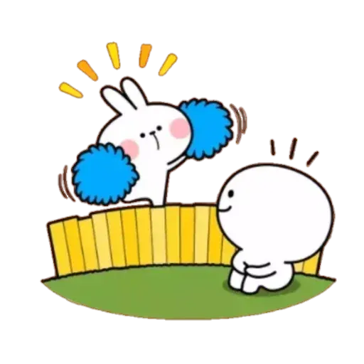 Spoiled rabbit 02 - Sticker 23