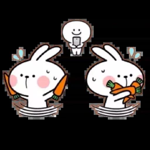 Spoiled rabbit 02 - Sticker 9