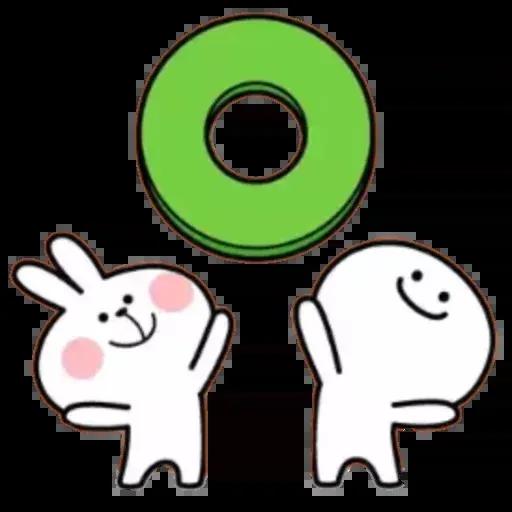 Spoiled rabbit 02 - Sticker 1