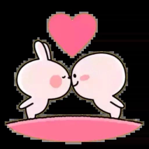 Spoiled rabbit 02 - Sticker 28
