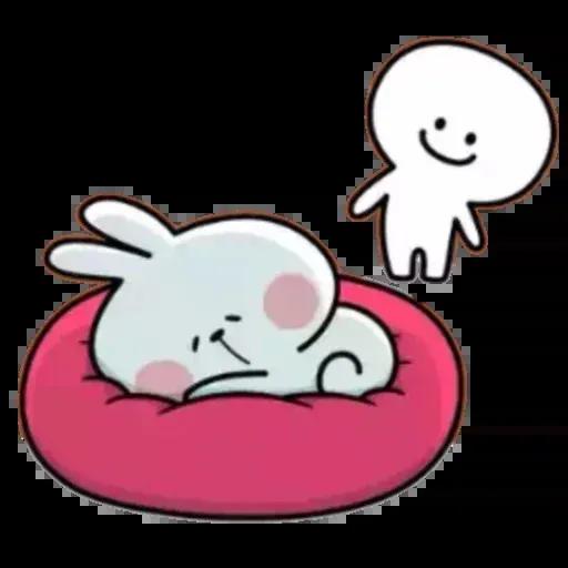 Spoiled rabbit 02 - Sticker 4