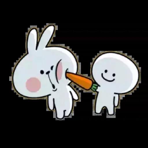 Spoiled rabbit 02 - Sticker 18