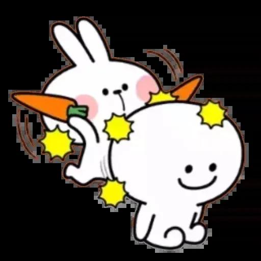 Spoiled rabbit 02 - Sticker 17