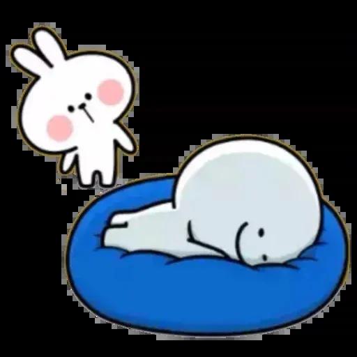 Spoiled rabbit 02 - Sticker 3