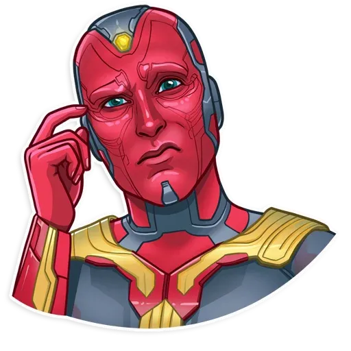 Marvel - Tray Sticker