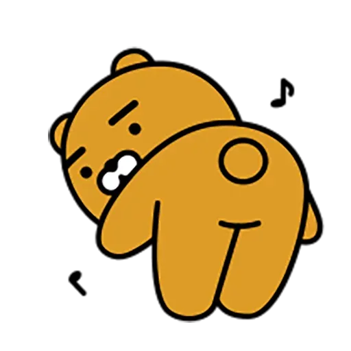 Kakao Ryan - Sticker 5