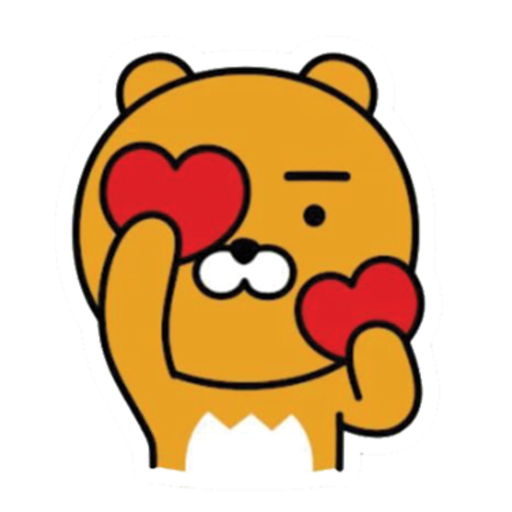 kakao friends - Sticker 3