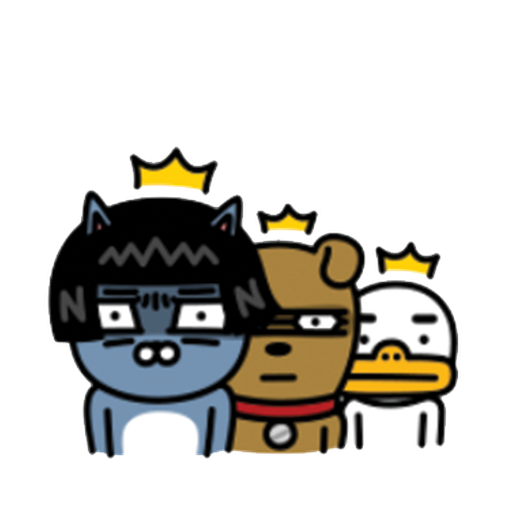 kakao friends - Sticker 1