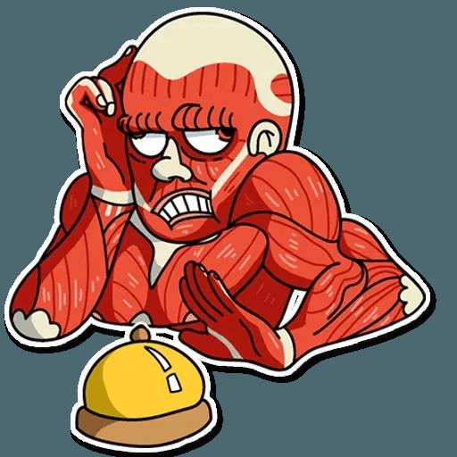 Muscle Body - Sticker 7
