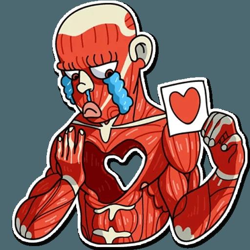 Muscle Body - Sticker 8