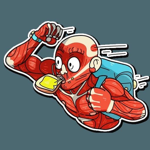 Muscle Body - Sticker 11