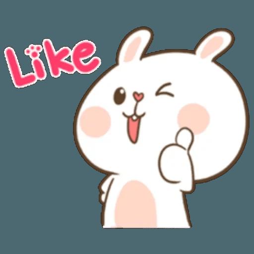 Puffy Rabbit 1 - Sticker 23